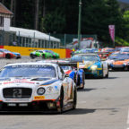Spa 24h 2018 Starterfeld mit Team Parker Racing Bentley