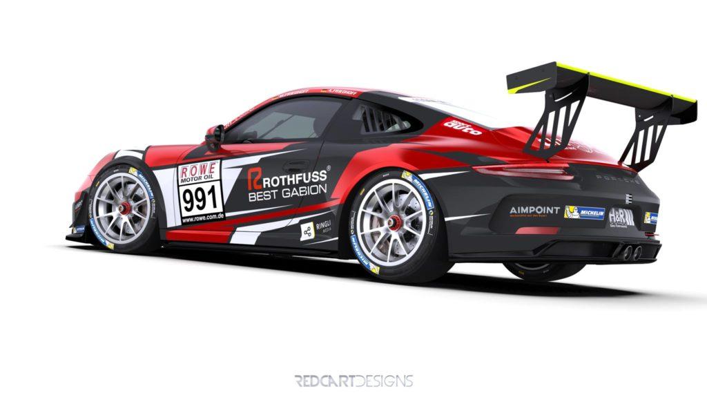 Aimpoint Racing Porsche SP7