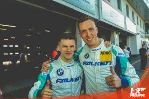 Stef Dusseldorp und Alexandre Imperatori von Falken Motorsports