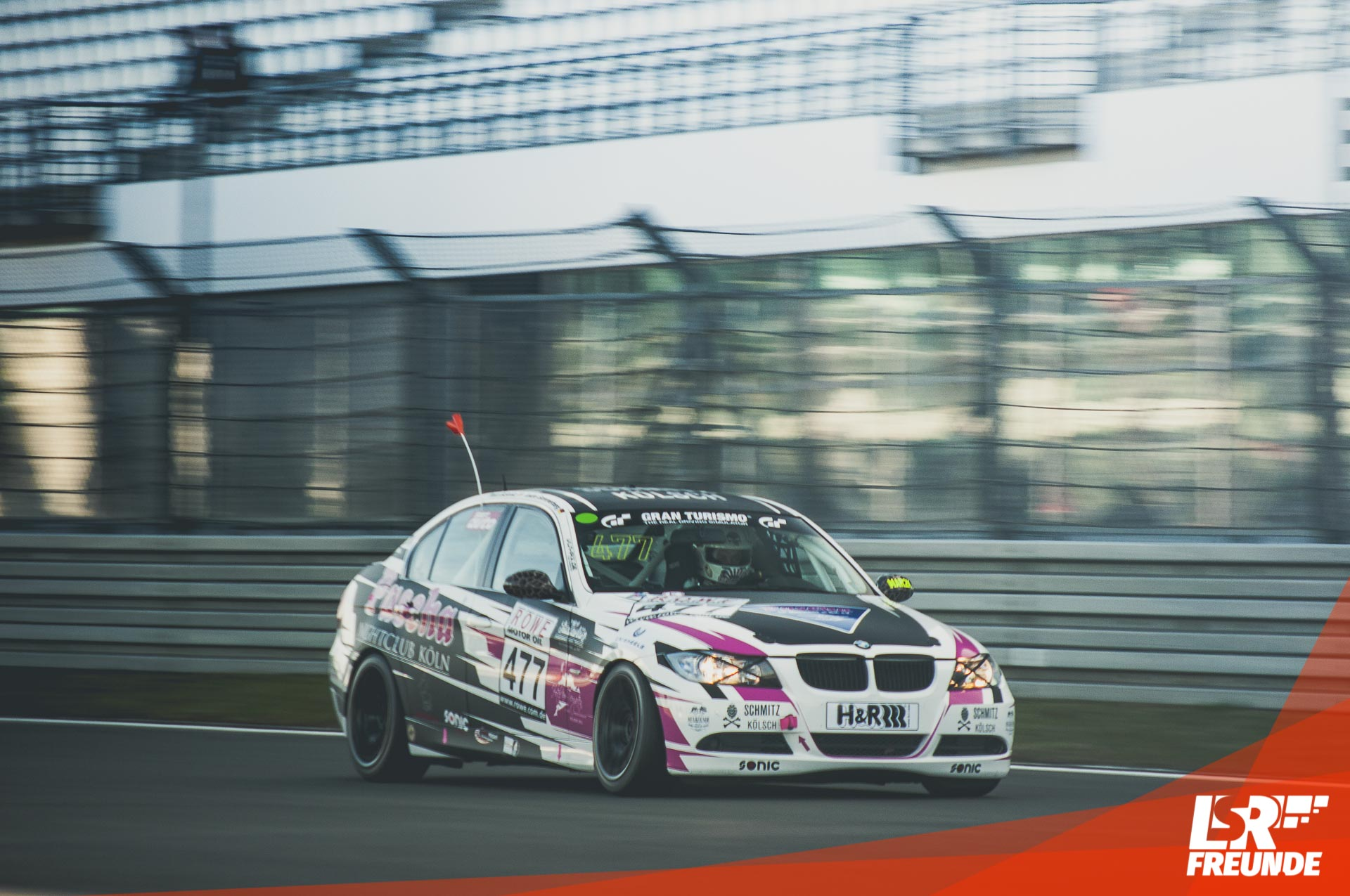 Spead Beat Motorsport BMW 325i VLN1 2017