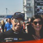 Danny Brink Pixum Team Adrenalin Motorsport in der Startaufstellung