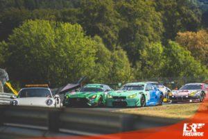 VLN5 2018 erste Startgruppe ROWE 6h-Rennen