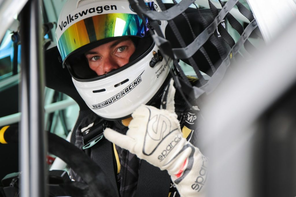 Benny Leuchter VW Golf GTI TCR Max Kruse Racing