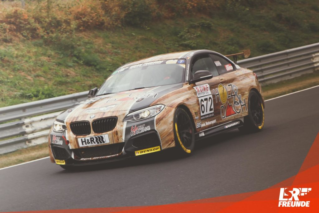 Lifecar Racing Holzi BMW M235i Racing Cup VLN 7 2018