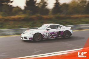 NEXEN TIRE Motorsport Porsche Cayman 718 S #445 VLN 7 2018