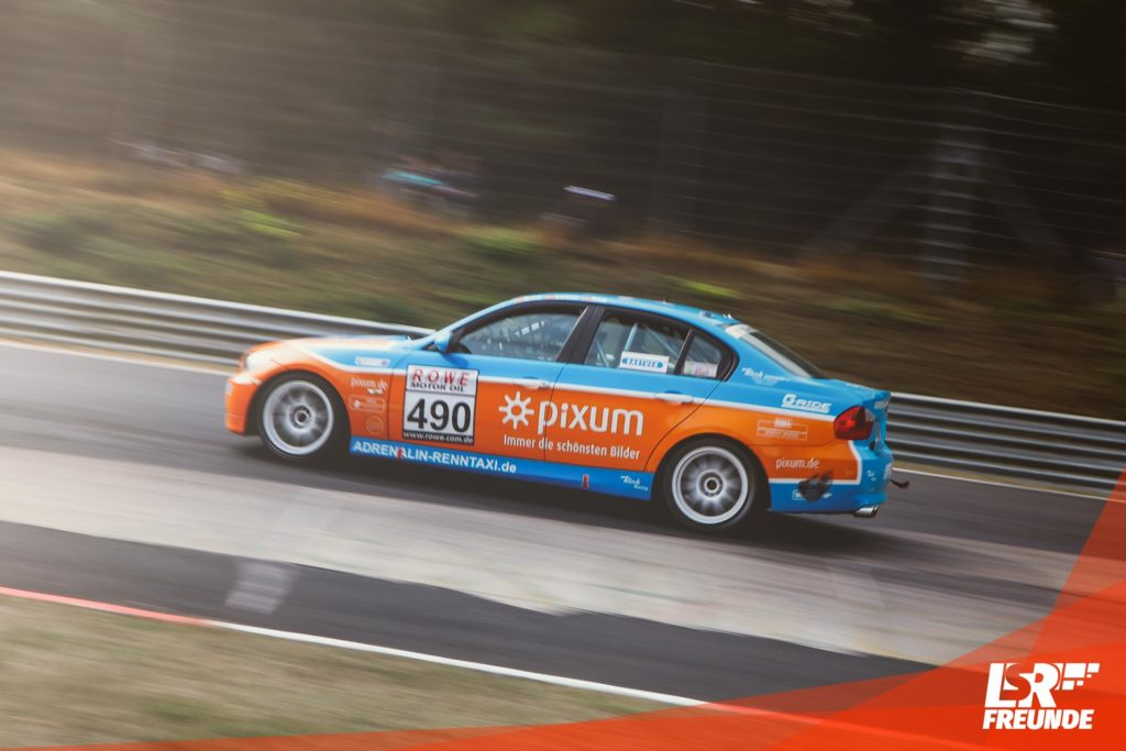 PIXUM Team Adrenalin Motorsport BMW 325i E90 #490 VLN 7 2018
