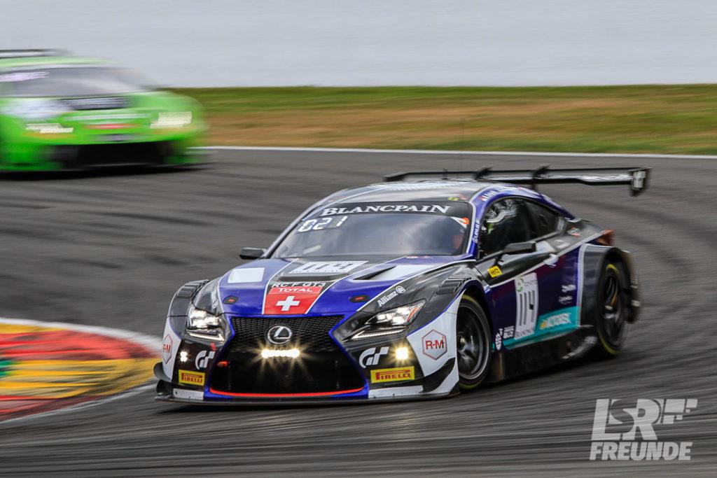 Emil Frey Lexus Racing #114 Blancpain GT Series Endurance Cup TOTAL 24h Spa 2018