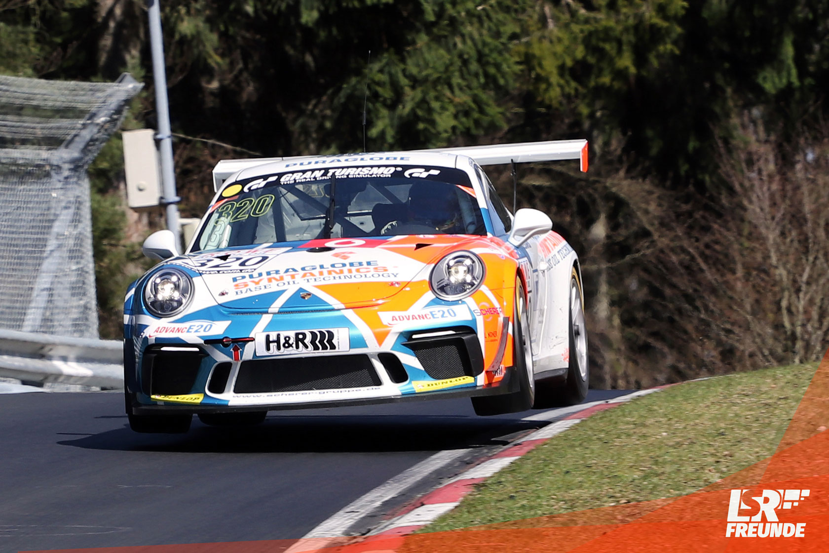Four Motors Bioconcept Car Porsche 911 GT3 Cup