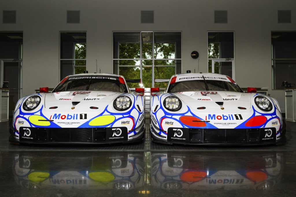 Reprodesign Petit Le Mans Porsche 911 RSR