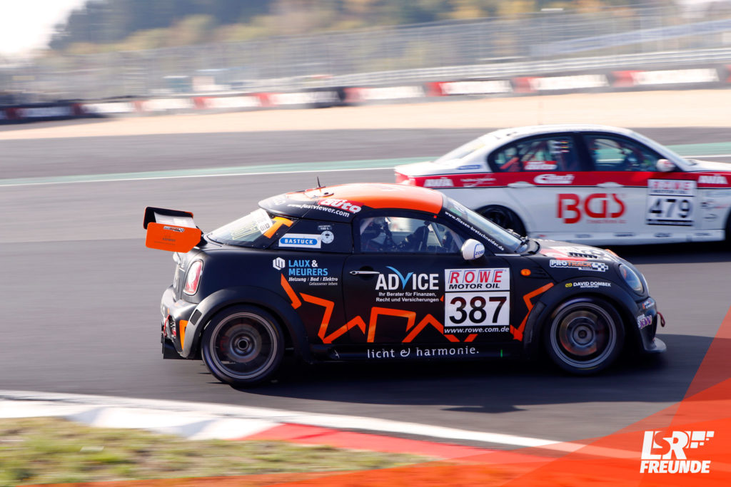 Racing4Emotion Mini Cooper #387 DMV Münsterlandpokal Jürgen Bretschneider Steven Fürsch
