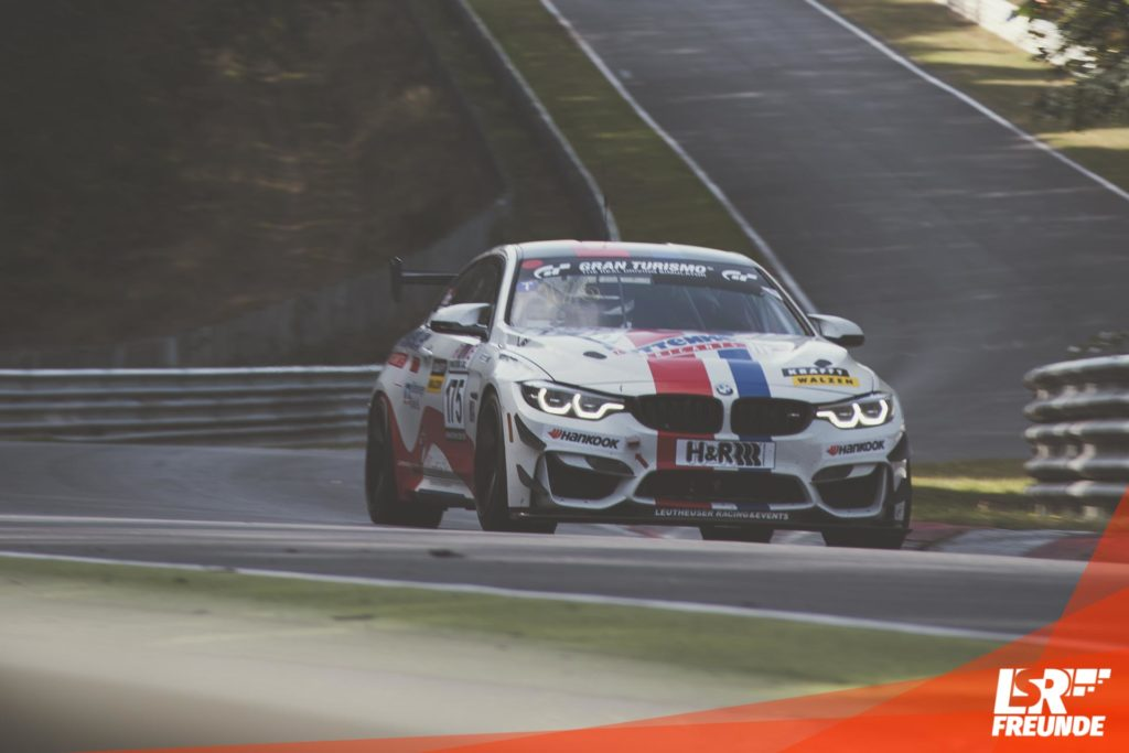 Leutheuser Racing Events BMW M4 GT4 #175 VLN8 2018