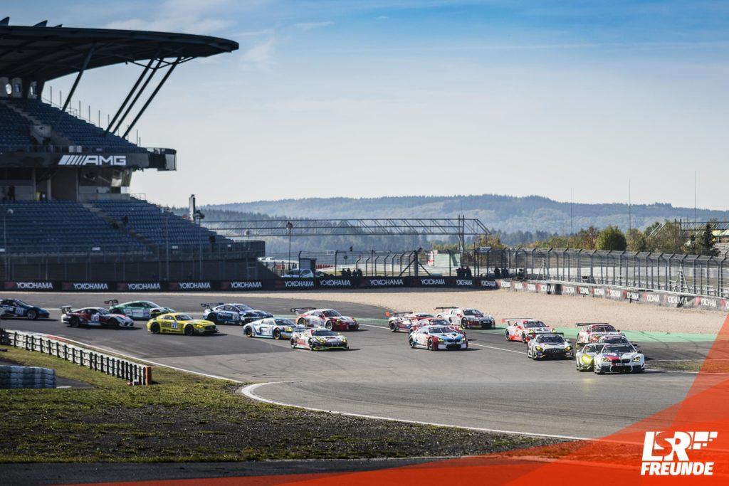 Starterfeld GT3 VLN8-2018