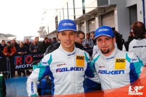 Klaus Bachler, Martin Ragginger, Falken Motorsports, Gesamtsieger 43. DMV Münsterlandpokal