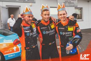 Christopher Rink, Danny Brink, Philipp Leisen, Pixum Team Adrenalin Motorsport, VLN9 2018 43. DMV Münsterlandpokal