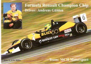 Andy Gülden Autogrommkarte 1997