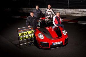 Porsche GT2 RS MR Rekord mit Lars Kern