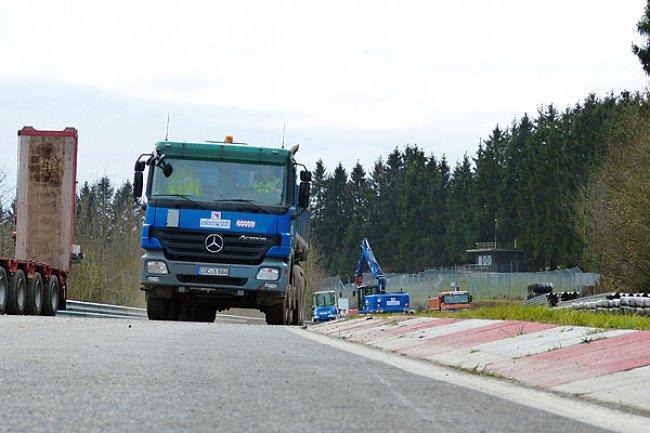 Bauarbeiten Nürburgring Nordschleife 2017