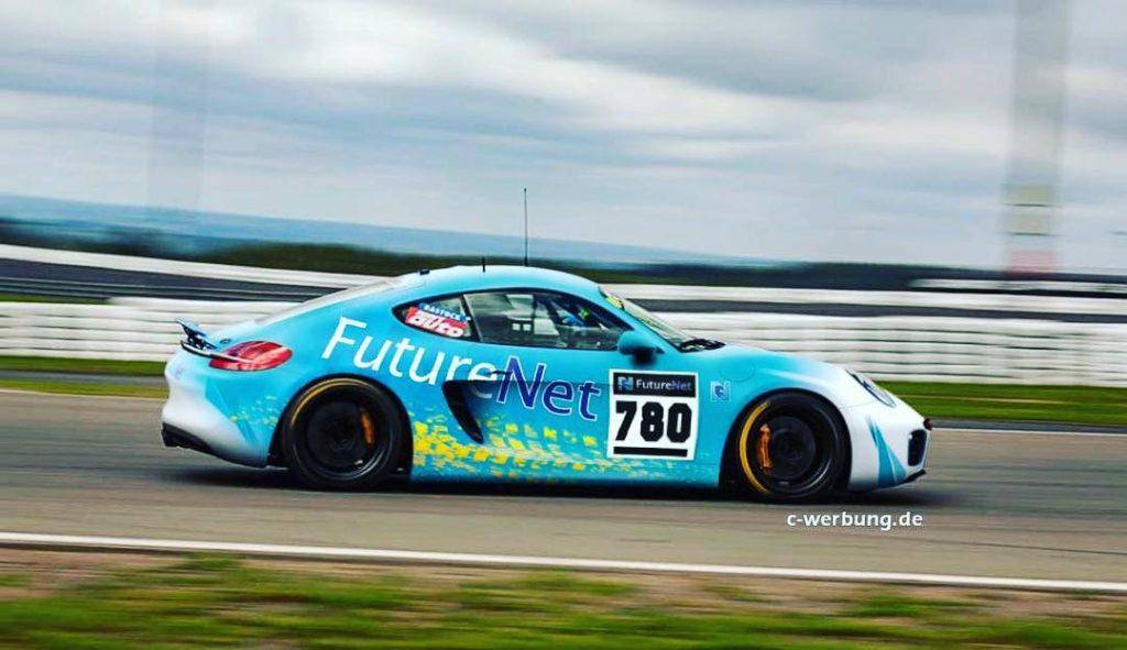 FutureNet Haas Motorsport, Porsche Cayman