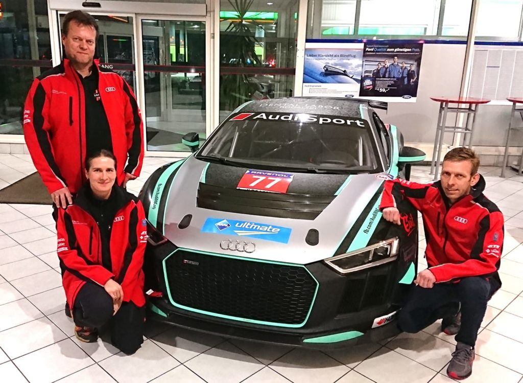 Lubner Motorsport Audi R8 LMS GT4