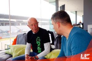 Karl Mauer und Michael Brückner im Gespräch