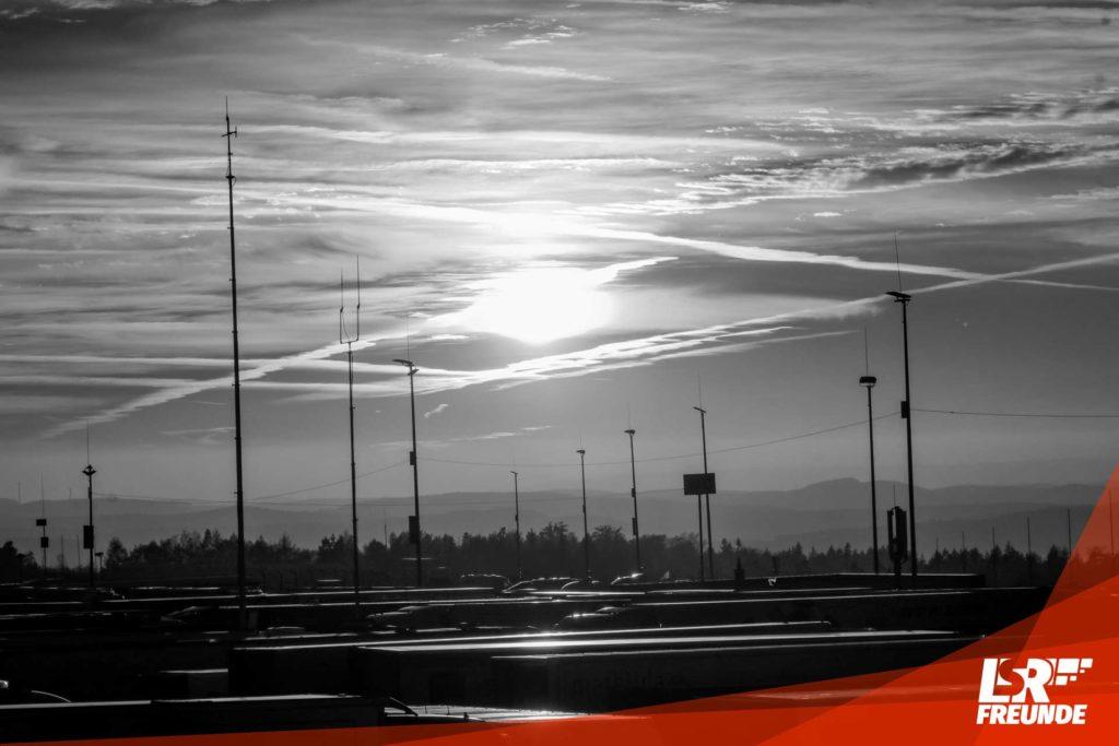 Sonnenuntergang Nürburgring VLN9 2018