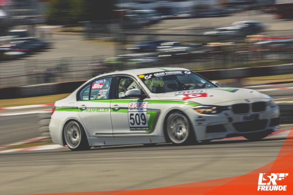 Manheller Racing BMW F30 328i #509 VLN5 2018