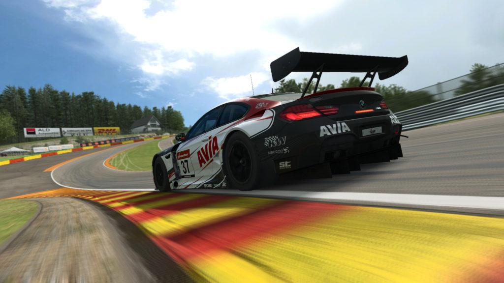 Avia Racing, RaceRoom, BMW M6 GT3