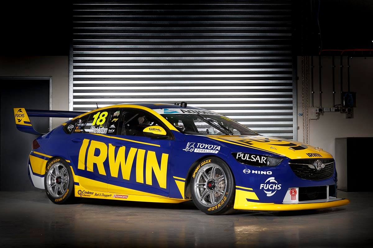 Mark Winterbottom, Team18, Holden Commdore