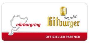 Nürburgring Bitburger Partnerlogo