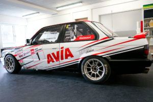 AVIA racing BMW E30 325i Heribert Haimerl