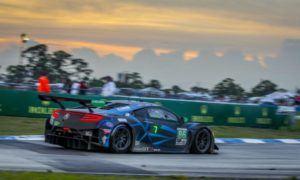 Mario Farnbacher Meyer Shank Racing Accura NSX GT3 IMSA Sebring 12h
