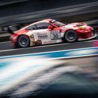 Frikadelli Racing Porsche 911 GT3 R VLN Test und Einstellfahrten 2019