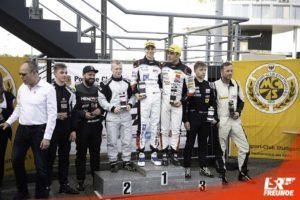 Siegerehrung RN Vision Racing Team Marius Zug / Gabriele Piana