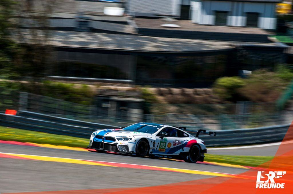 BMW Team MTEK 6h Spa 2018 - BMW M8 GTE #82