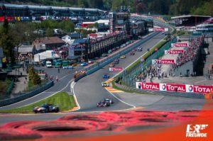Starterfeld TOTAL 6h Spa 2018 Circuit de Spa-Francorchamps
