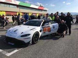 PROsport Performance feiert erstes Podium für den Aston Martin Vantage GT4