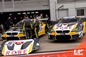 ROWE Racing BMW M6 GT3 #98 #99