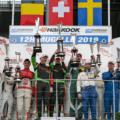 autorama Motorsport Siegerehrung 12h Mugello 2019