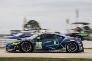 Meyer Shank Racing Acura NSX GT3 Mario Farnbacher