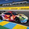 Project 1 Motorsport Porsche 911 GT3 RSR Art Car Le Mans 24h 2019
