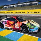 Project 1 Motorsport Porsche 911 GT3 RSR Art Car Le Mans 24h 2019