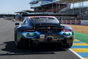 Project 1 Motorsport Porsche 911 GT3 RSR Art Car