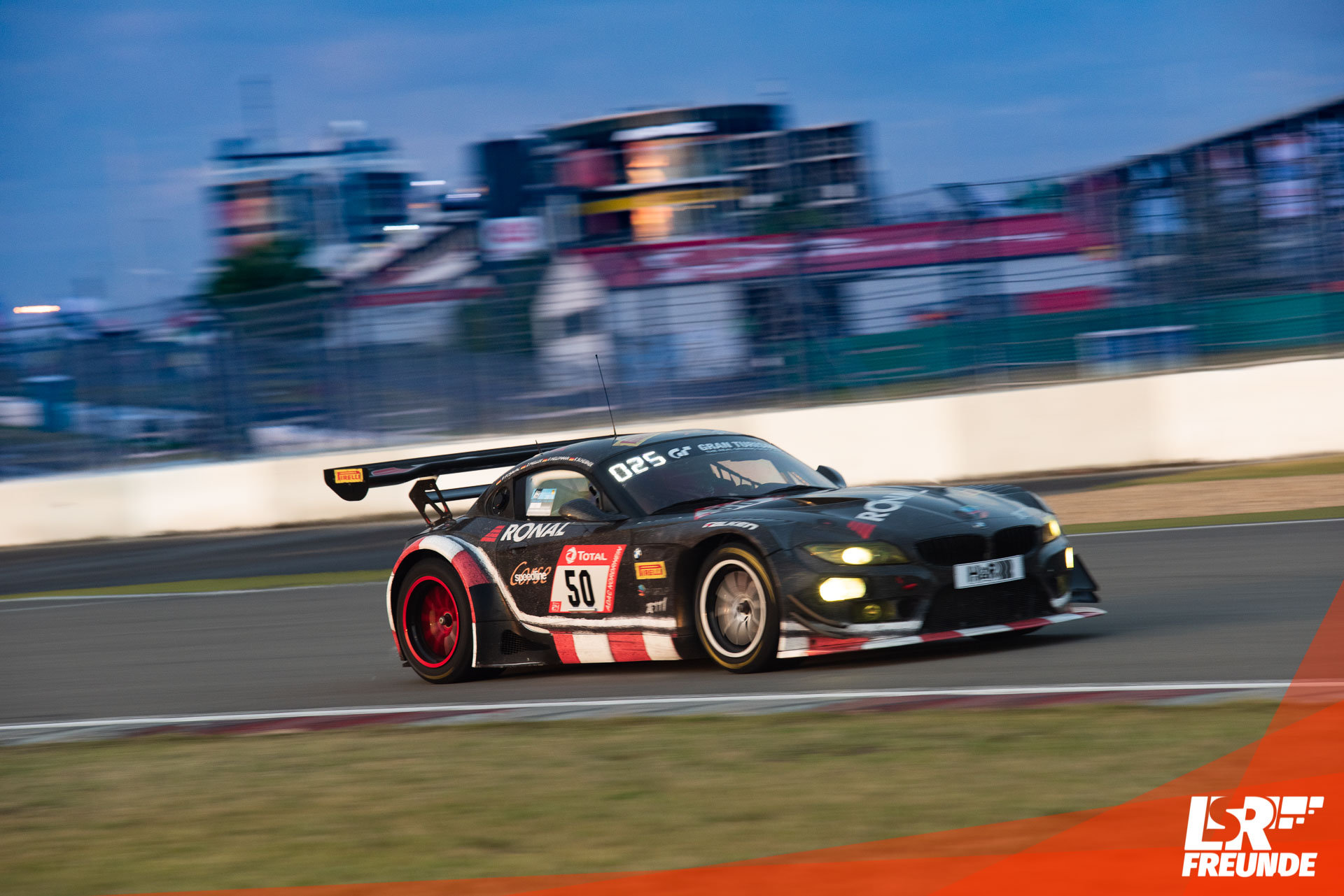 Speedline Racing BMW Z4 GT3 #50 ADAC Total 224h Rennen Nürburgring 2019