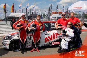 AVIA racing Renault Clio RS Team N24h 2019