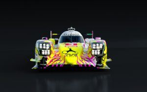 REBELLION Racing LMP 1 Artcar 2