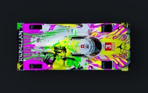 REBELLION Racing LMP 1 Artcar 2 oben