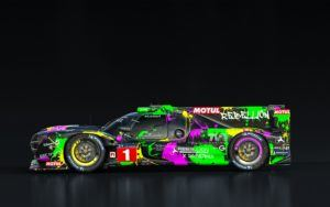 REBELLION Racing LMP 1 Artcar Seite