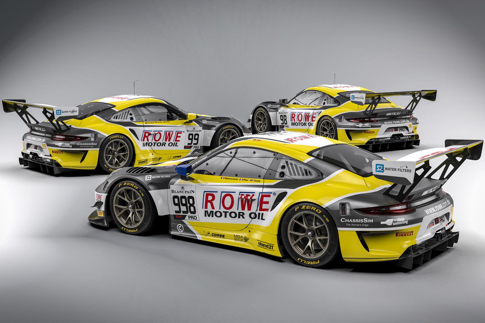 ROWE RACING Porsche 991GT3R_2019_MCG_24hSpa