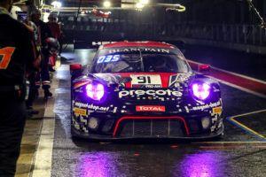 Porsche 911 GT3 R, Herberth Motorsport (91), Daniel Allemann (CH), Ralf Bohn (D), Alfred Renauer (D), Robert Renauer (D)