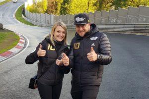 Jasmin Preisig, Andy Gülden - Max Kruse Racing VLN 4 2019 Nürburgring Nordschleife